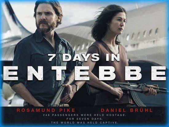 7 Days in Entebbe – Operaţiunea Entebbe (2018)