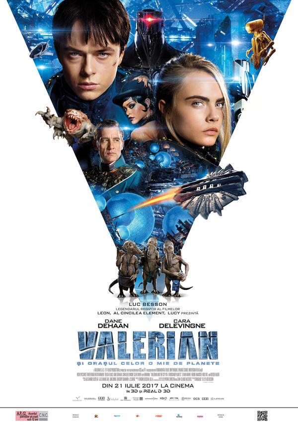 Valerian și oraşul celor o mie de planete (2017)